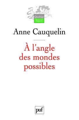 A L'ANGLE DES MONDES POSSIBLES