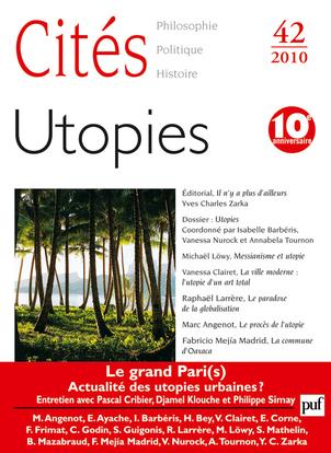 IAD - CITES 2010 N 42 UTOPIES