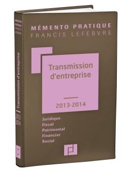 MEMENTO TRANSMISSION D'ENTREPRISE 2013/2014