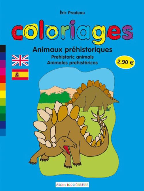 ANIMAUX PREHISTORIQUES (COLORIAGES)