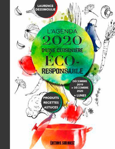 L'AGENDA 2020 D'UNE CUISINIERE ECO-RESPONSABLE