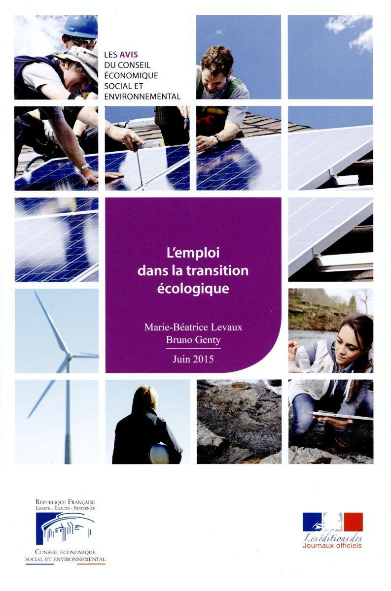 LES EMPLOIS DE LA TRANSITION ECOLOGIQUE CESE N  15