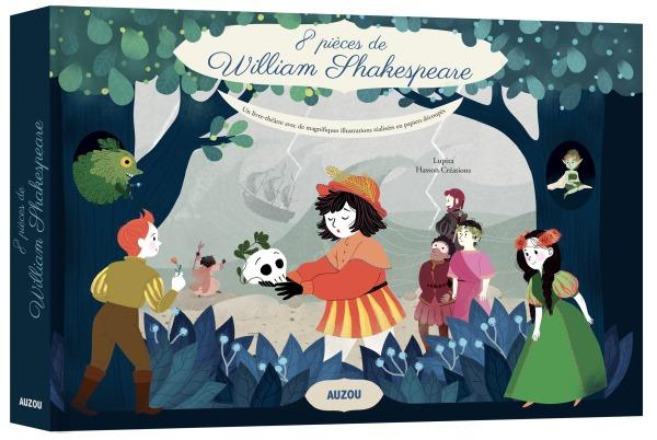8 PIECES DE WILLIAM SHAKESPEARE