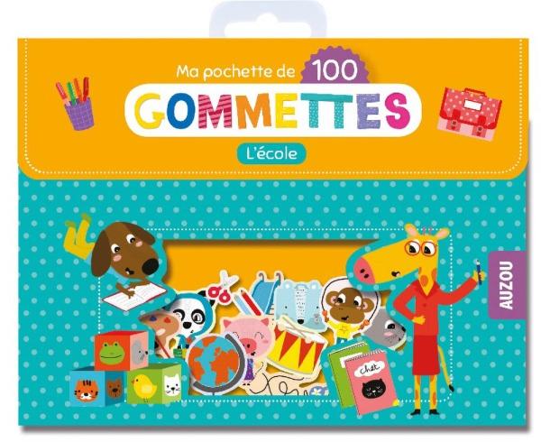 MA POCHETTE DE 100 GOMMETTES - L'ECOLE
