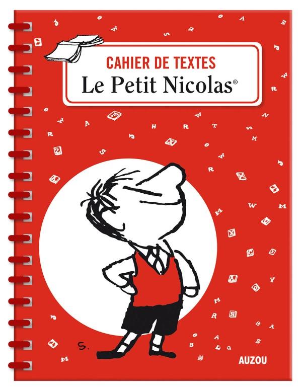 CAHIER DE TEXTES LE PETIT NICOLAS