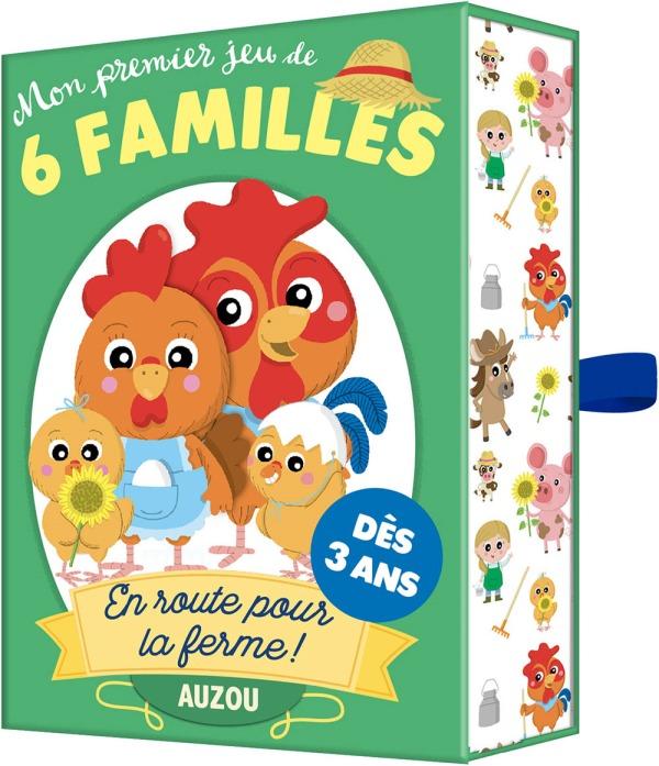 MON PREMIER JEU DE 6 FAMILLES - EN ROUTE POUR LA FERME