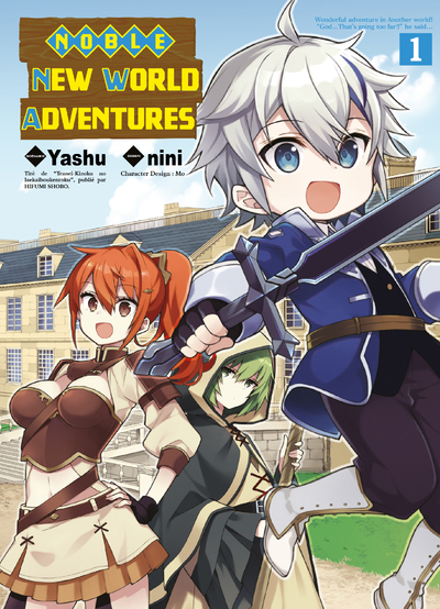 NOBLE NEW WORLD ADVENTURES T01 - VOLUME 01