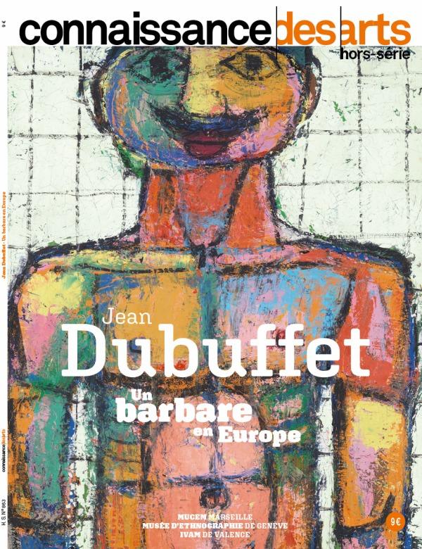 JEAN DUBUFFET - UN BARBARE EN EUROPE