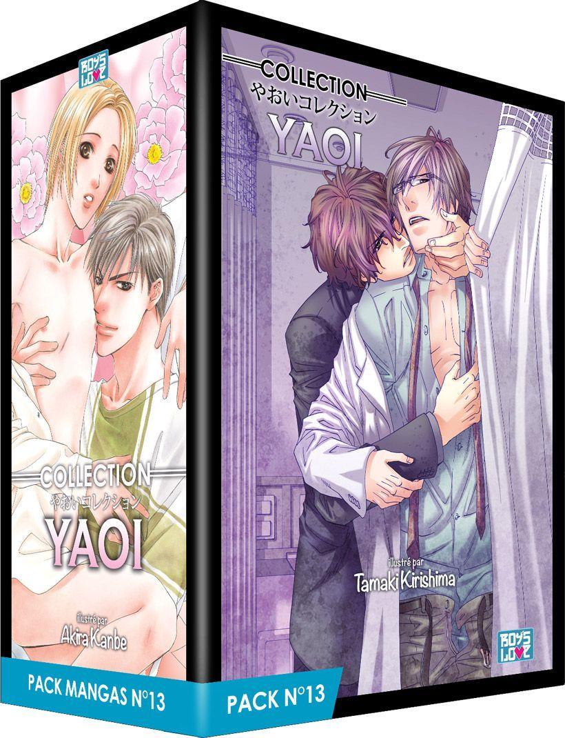 PACK BOY'S LOVE - PARTIE 13 - 5 MANGA (LIVRES) - YAOI