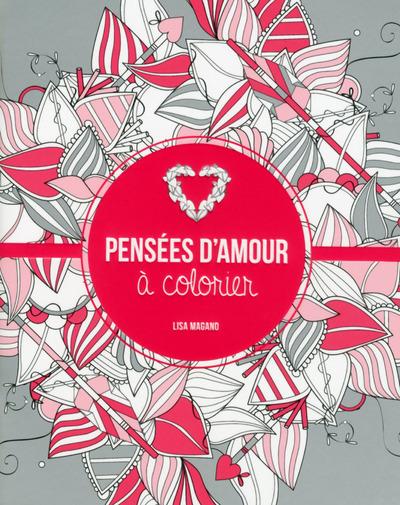PENSEES D'AMOUR A COLORIER