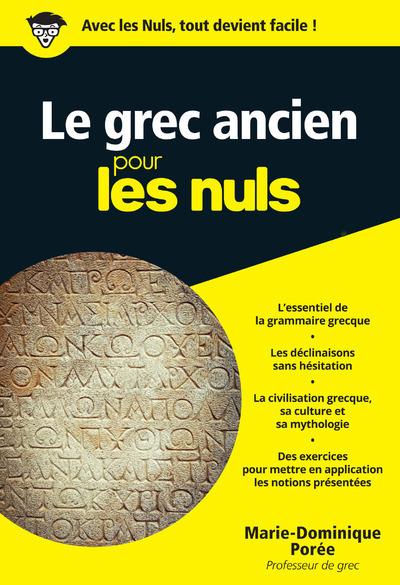 LE GREC ANCIEN POCHE POUR LES NULS