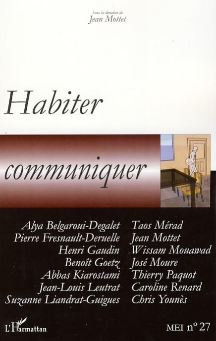 HABITER, COMMUNIQUER