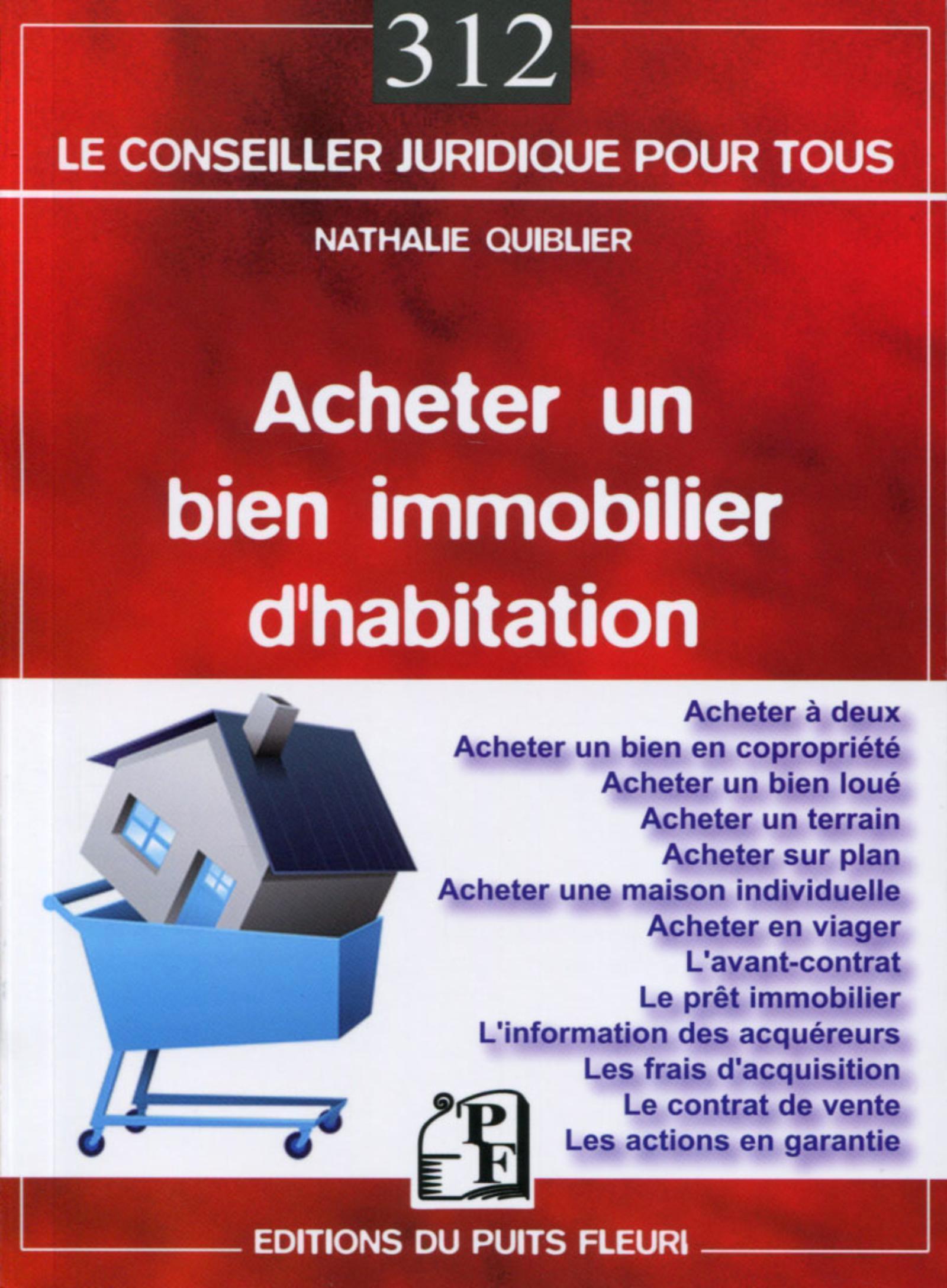 ACHETER UN BIEN IMMOBILIER D HABITATION