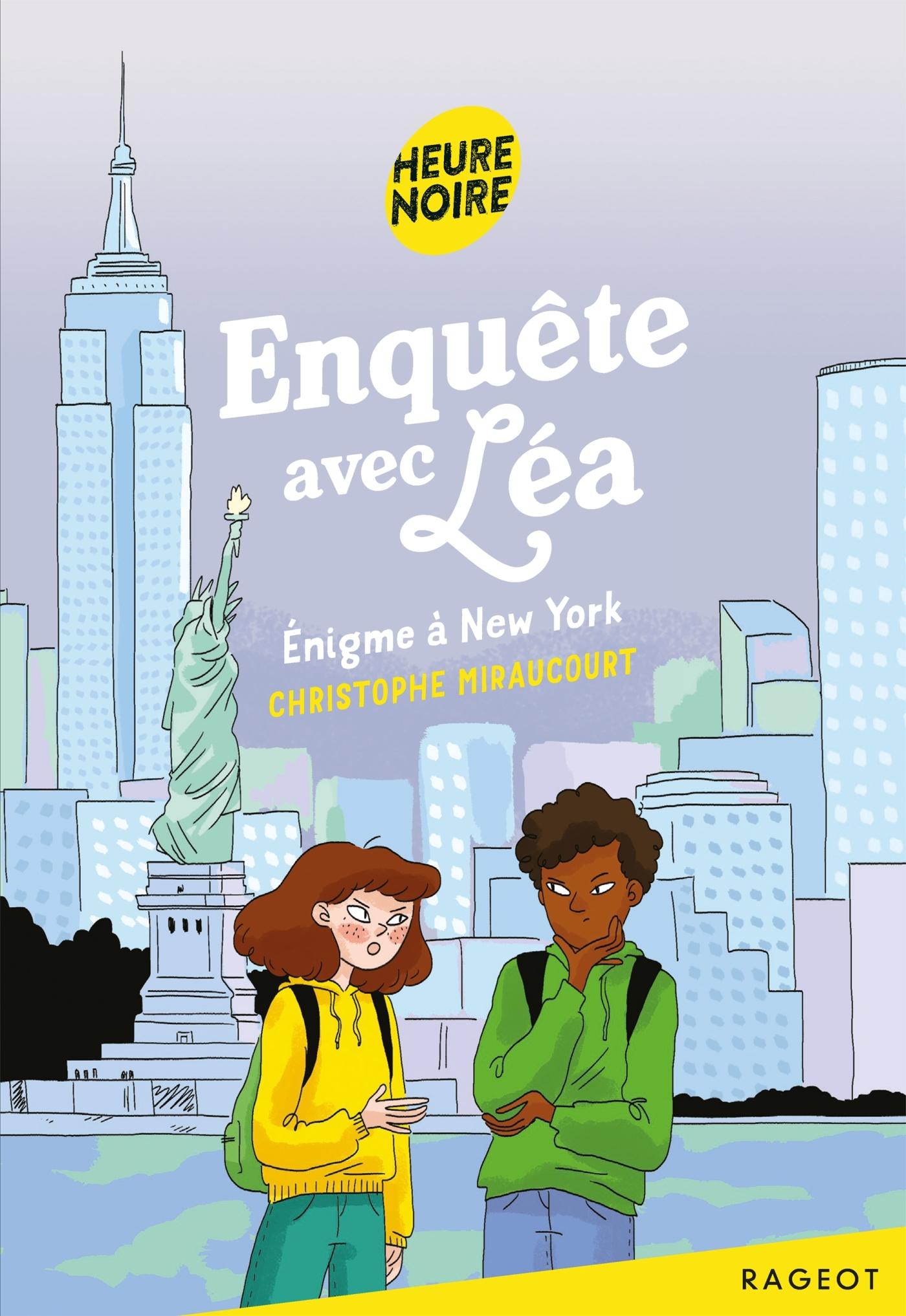 ENQUETE AVEC LEA - T04 - ENQUETE AVEC LEA - ENIGME A NEW YORK