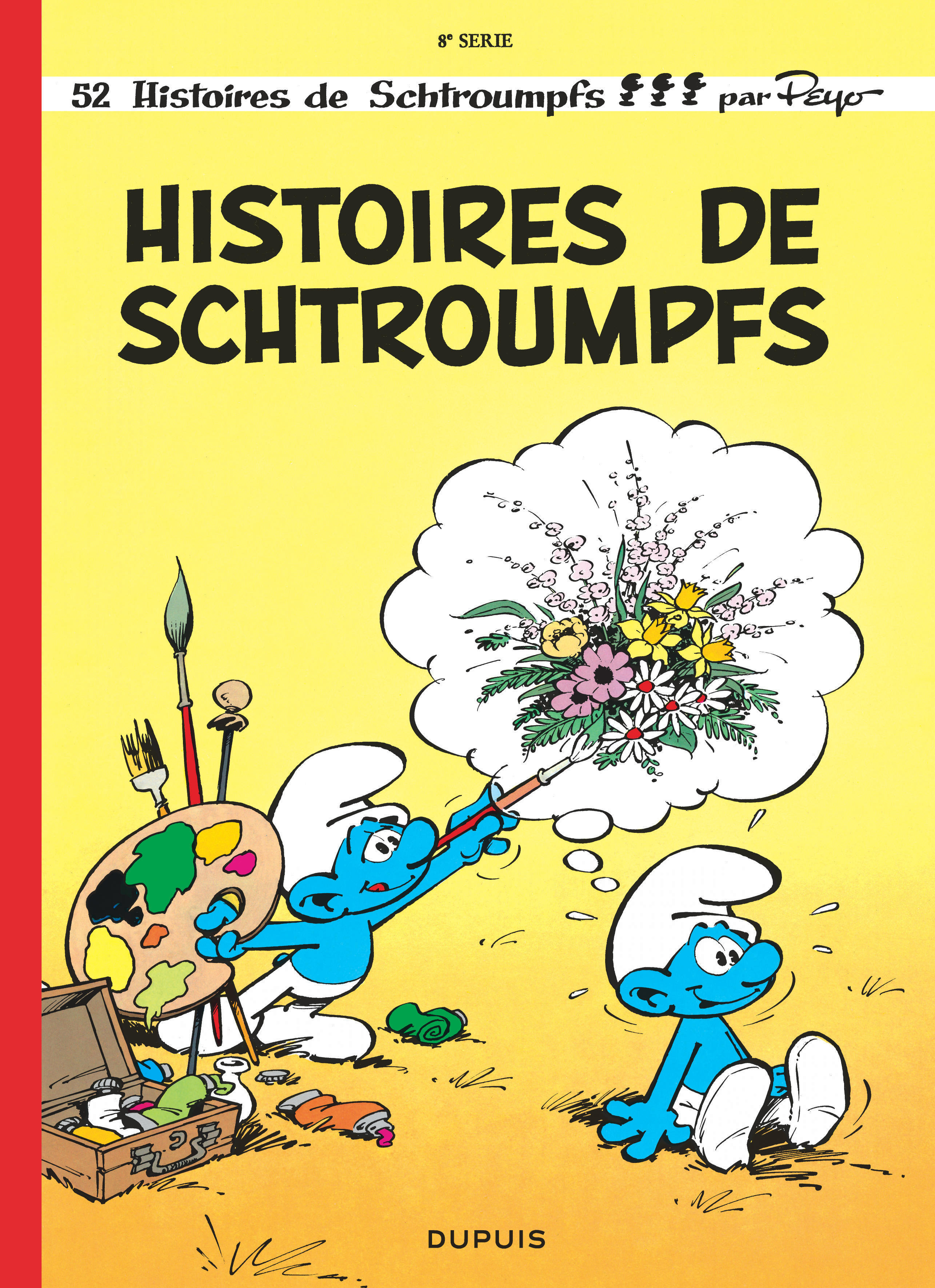 SCHTROUMPFS (DUPUIS) - T8 - HISTOIRES DE SCHTROUMPFS