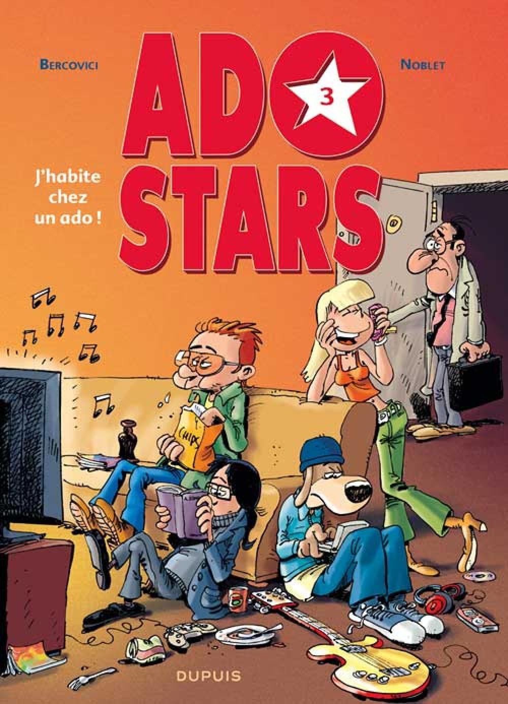 J'AHABIE CHEZ UN ADO ! - ADOS STARS - T3