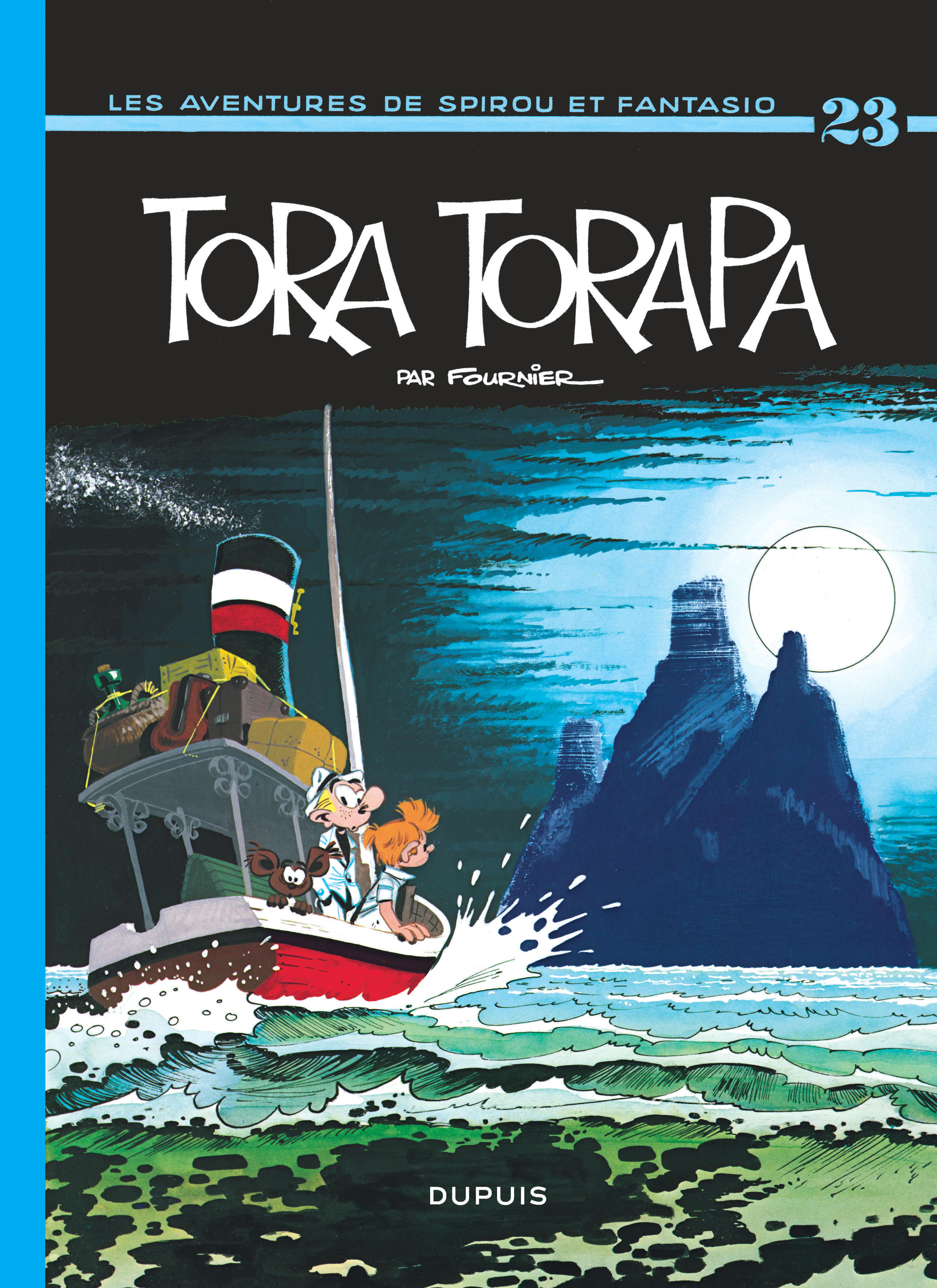 SPIROU ET FANTASIO - T23 - TORA-TORAPA