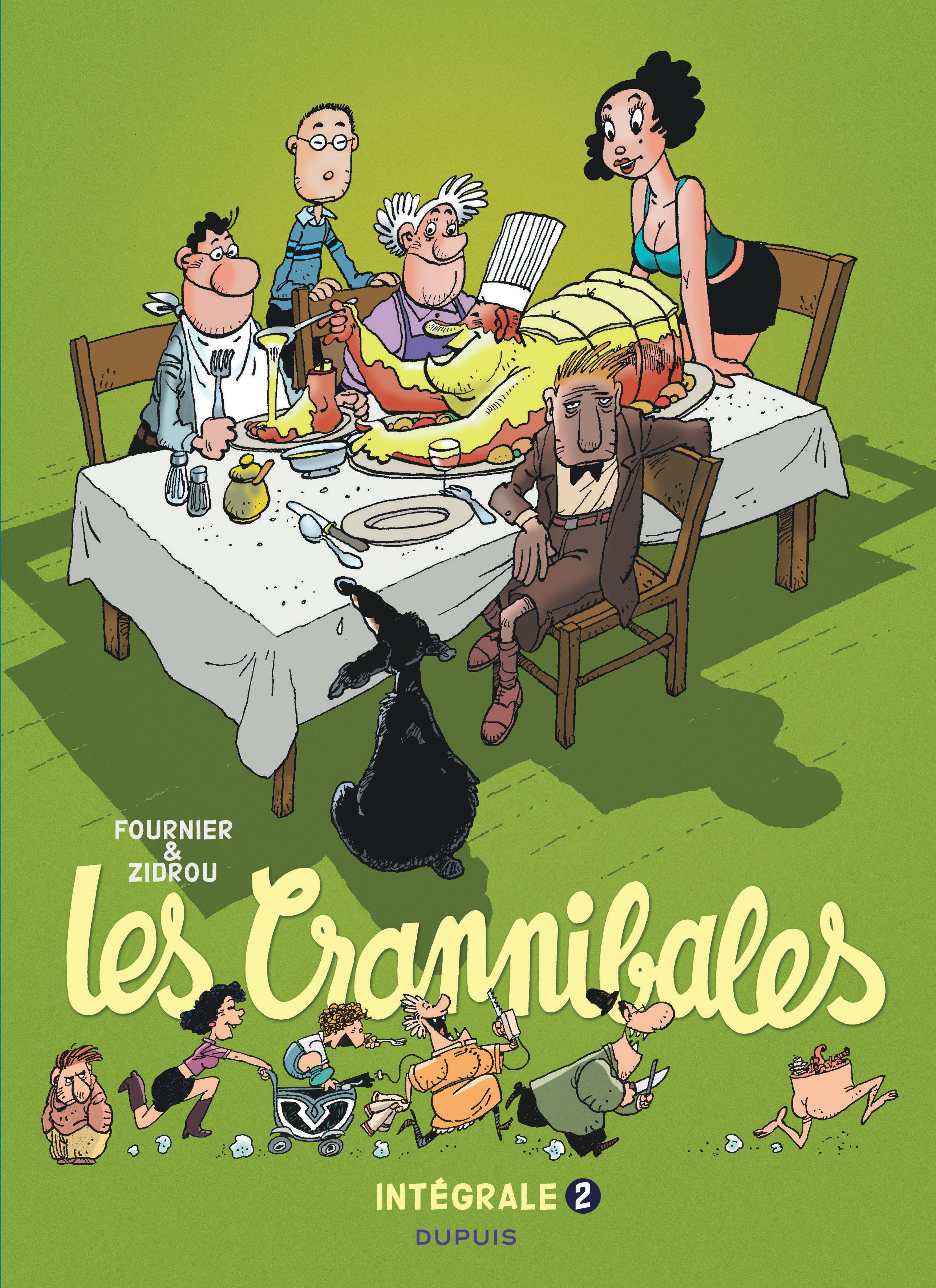 LES CRANNIBALES-L'INTEGRALE - LES CRANNIBALES - L'INTEGRALE - TOME 2 - LES CRANNIBALES (INTEGRALE) 2