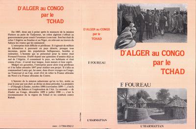 D'ALGER AU CONGO PAR LE TCHAD - REEDITION DE L'OUVRAGE ORIGINAL PARU EN 1902