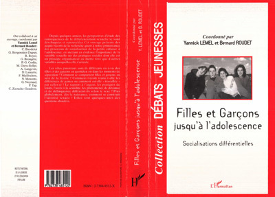 FILLES ET GARCONS JUSQU'A  L'ADOLESCENCE. SOCIALISATIO