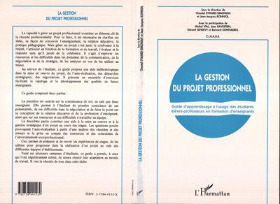 GESTION DU PROJET PROFESSIONNEL. GUIDE D'APPRENTISSAGE
