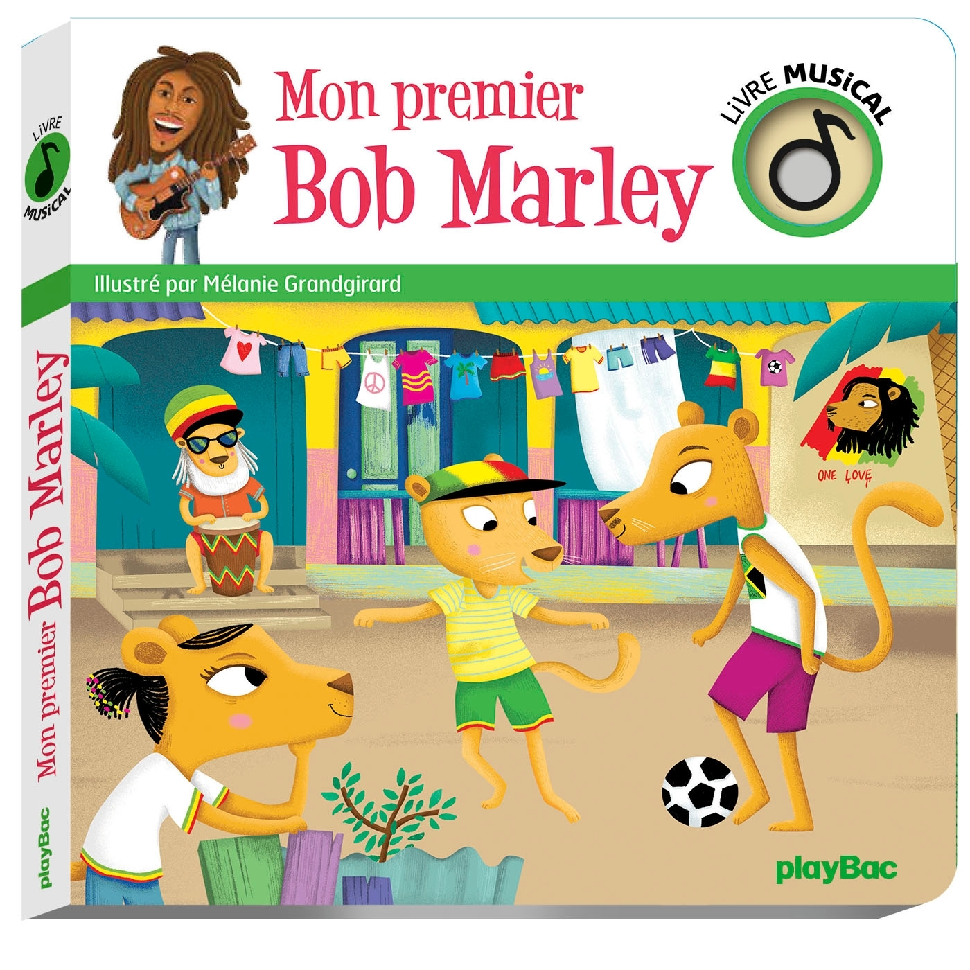 LIVRE MUSICAL - MON PREMIER BOB MARLEY