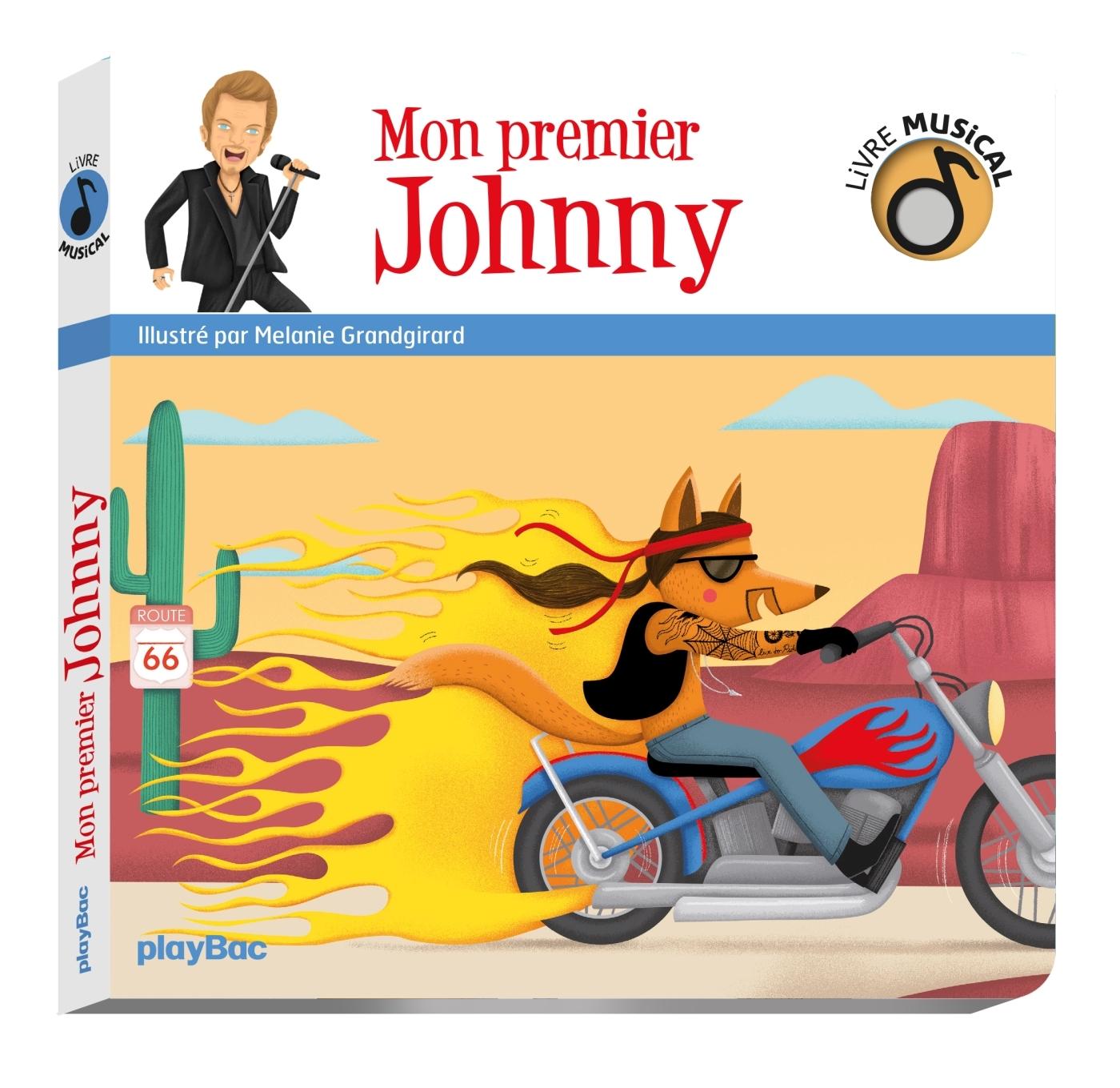 LIVRE MUSICAL - MON PREMIER JOHNNY