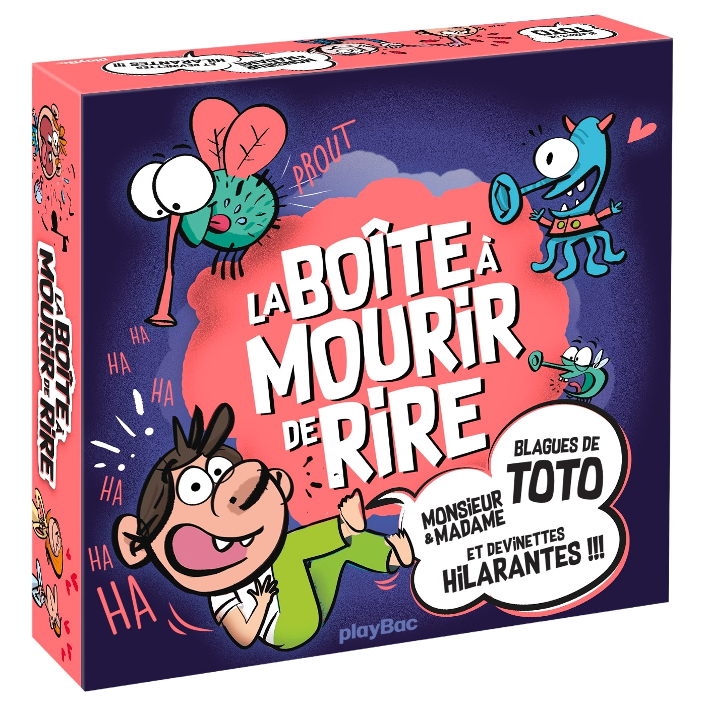 COFFRET DEVINETTES - LA BOITE A MOURIR DE RIRE