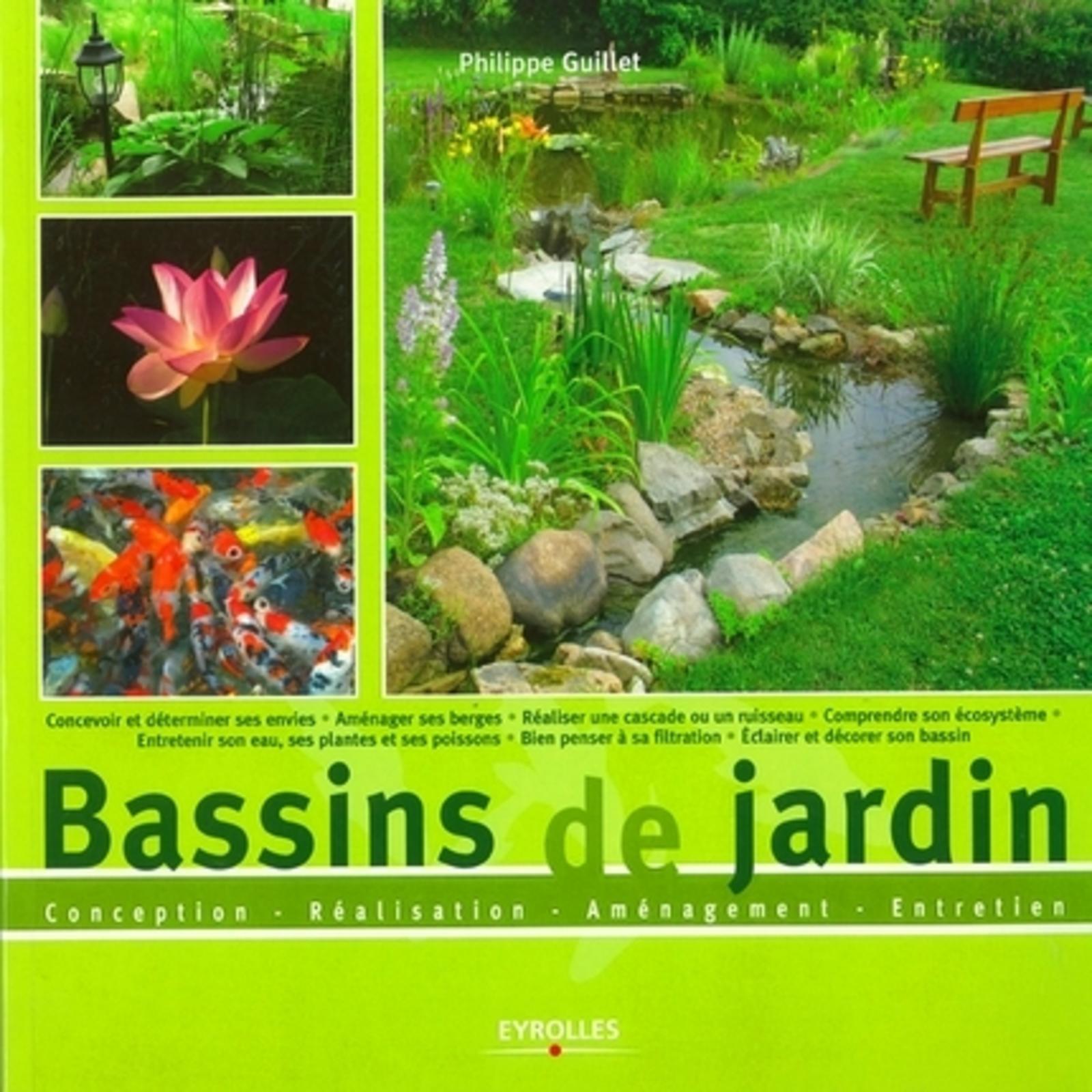 BASSINS DE JARDIN CONCEPTION, REALISATION, AMENAGEMENT, ENTRETIEN