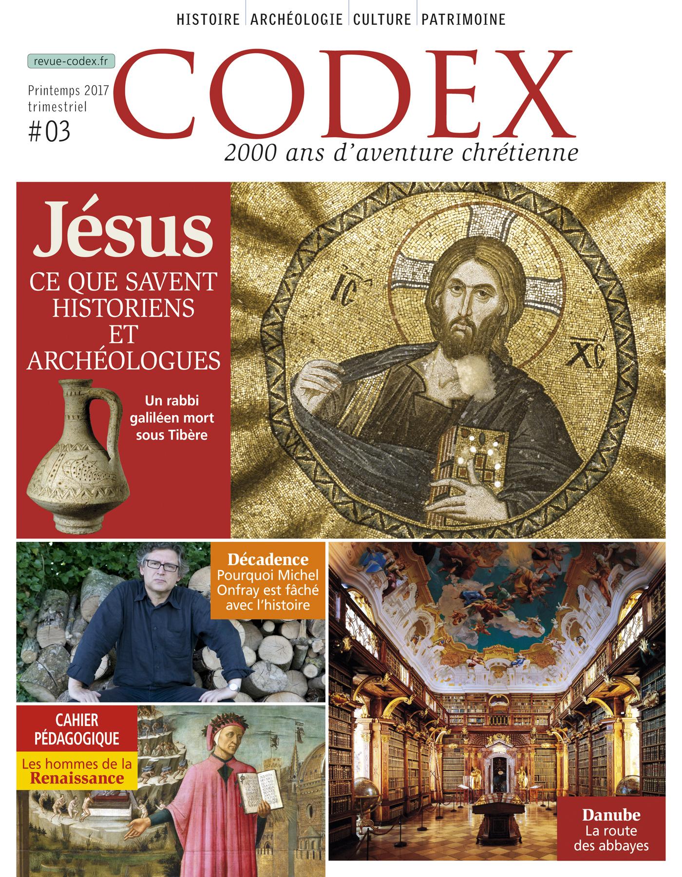 JESUS CE QUE SAVENT LES HISTORIENS ET LES ARCHEOLOGUES - CODEX N3
