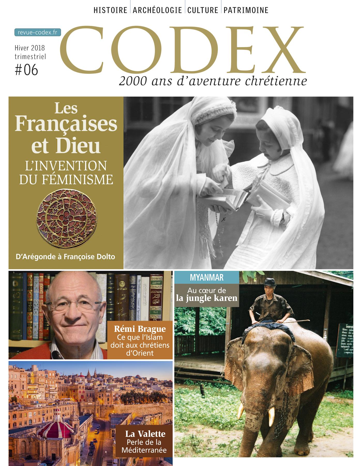 FRANCAISES ET DIEU - CODEX N6