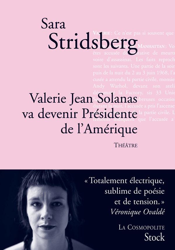 VALERIE JEAN SOLANAS VA DEVENIR PRESIDENT DE L'AMERIQUE