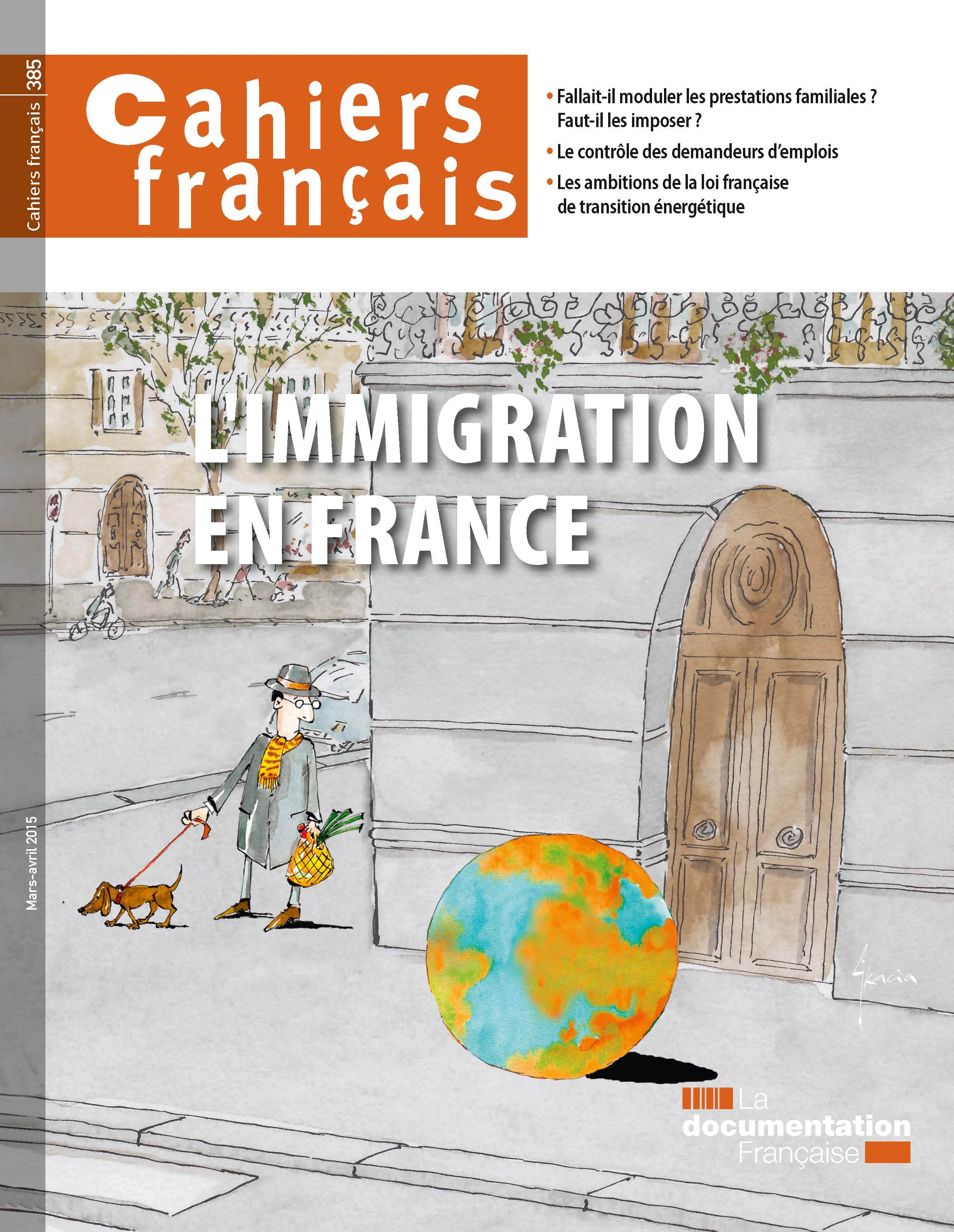 L'IMMIGRATION EN FRANCE - CF N 385 MARS-AVRIL 2015