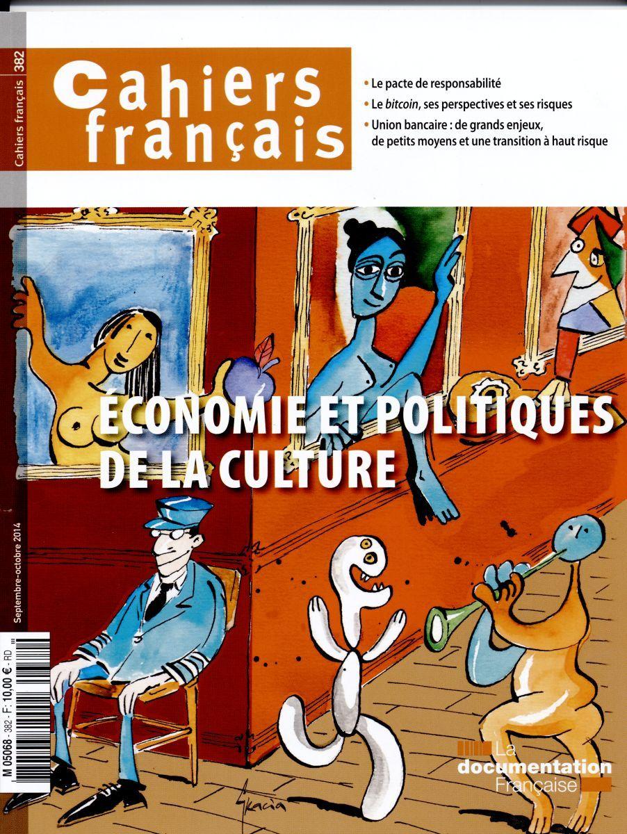 CF382 - ECONOMIE ET POLITIQUE DE LA CULTURE