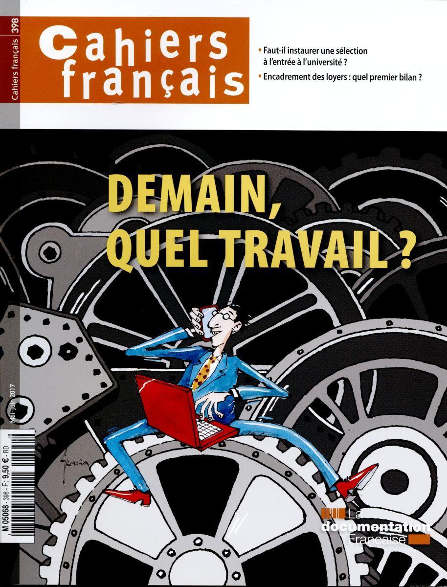 DEMAIN, QUEL TRAVAIL ?-CF N 398
