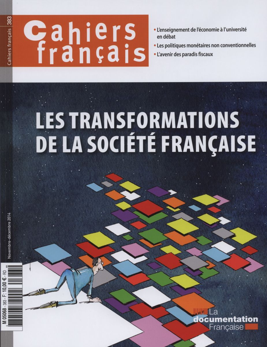CF383-LES TRANSFORMATIONS DE LA SOCIETE FRANCAISE