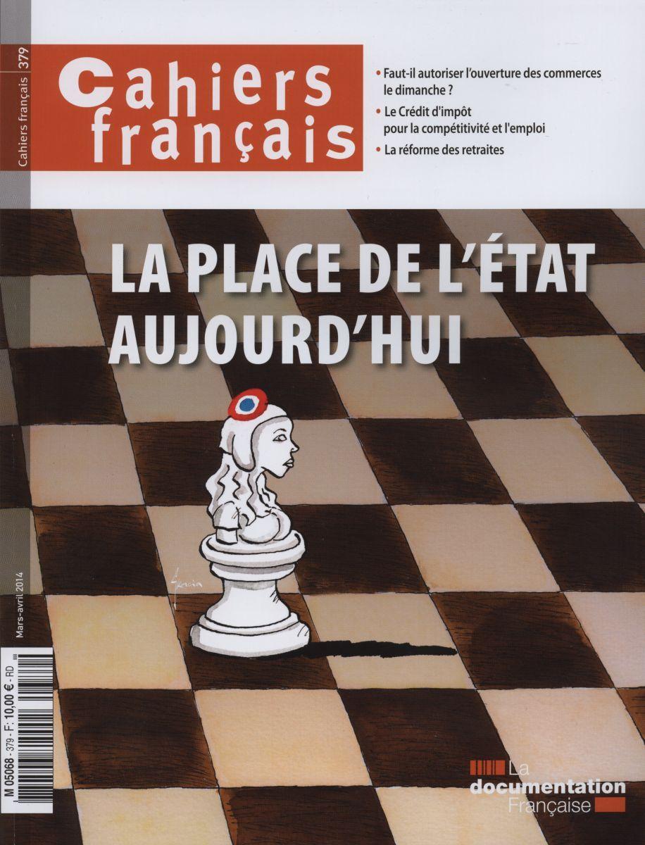 LA PLACE DE L'ETAT AUJOURD'HUI - CF N 379