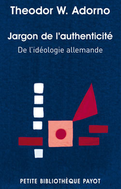 JARGON DE L'AUTHENTICITE