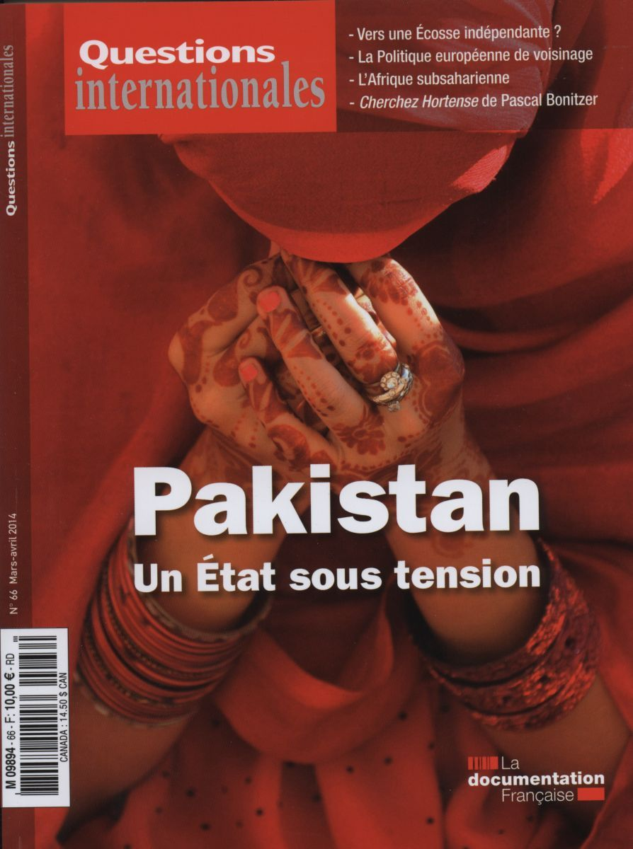 PAKISTAN : UN ETAT SOUS TENSION - QI N 66