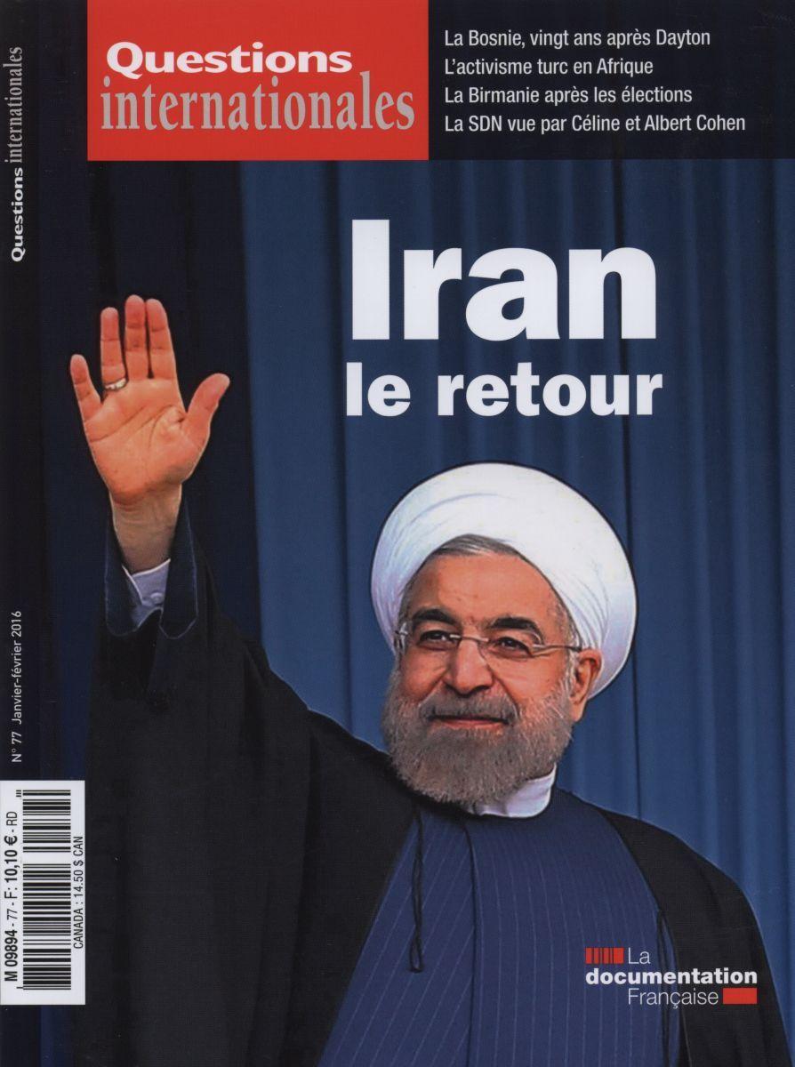 L'IRAN QUESTIONS INTERNATIONALES N 77