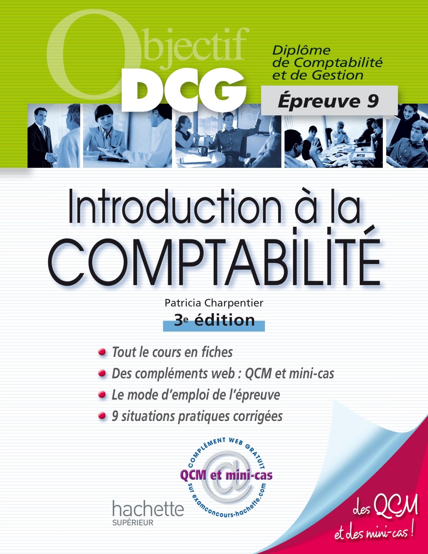 OBJECTIF DCG - INTRODUCTION A LA COMPTABILITE