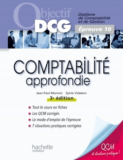 OBJECTIF DCG - COMPTABILITE APPROFONDIE