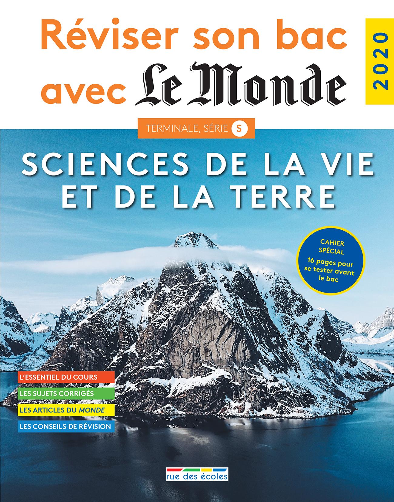 REVISER SON BAC AVEC LE MONDE 2020 SCIENCES DE LA VIE ET DE LA TERRE