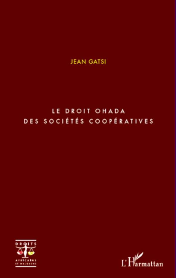 DROIT OHADA DES SOCIETES COOPERATIVES