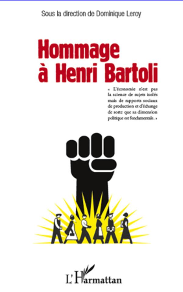 HOMMAGE A HENRI BARTOLI