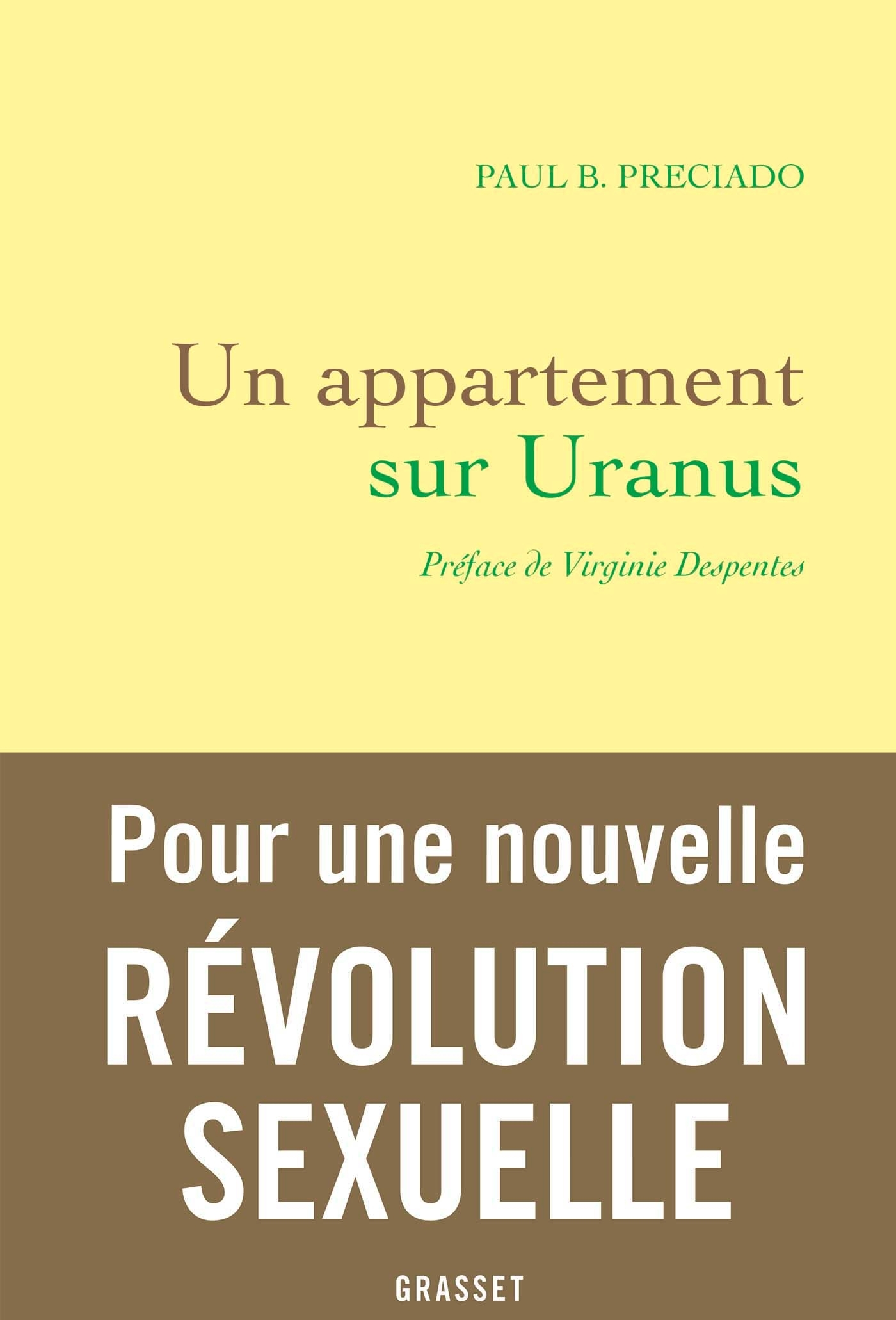 UN APPARTEMENT SUR URANUS - PREFACE DE VIRGINIE DESPENTES