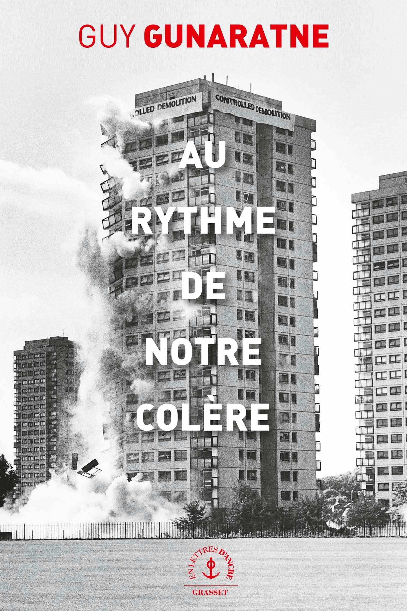 AU RYTHME DE NOTRE COLERE - ROMAN