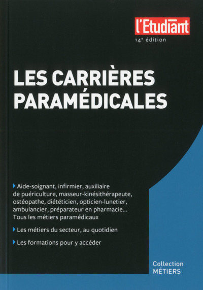 LES CARRIERES PARAMEDICALES 14 EDITION