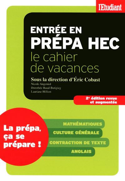 CAHIER DE VACANCES PREPA HEC