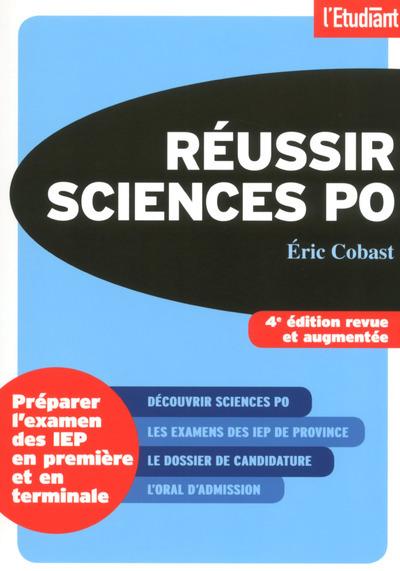 REUSSIR SCIENCES PO 4E EDITION REVUE ET AUGMENTEE